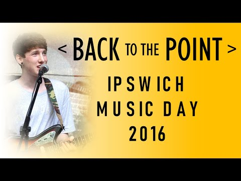 Back to the Point at Ipswich Music Day 2016, Christchurch Park