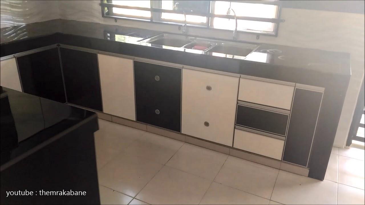 Kabinet Dapur Tiang Hiasan Dan Kabinet Tv Malaysia 03 Hiasan Dalaman Youtube
