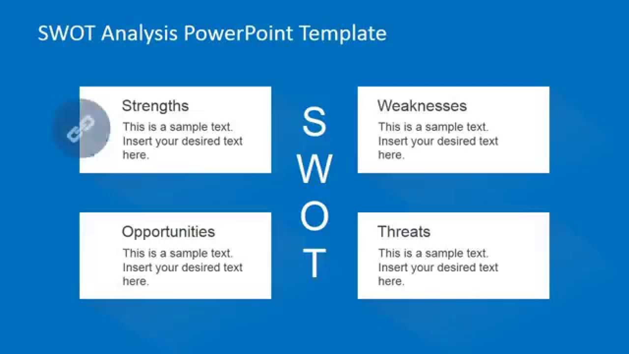 animated swot analysis powerpoint template youtube