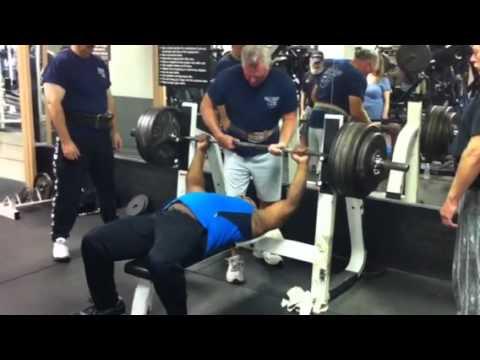 Chad 480 Pound Bench Press