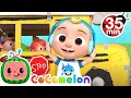 Wheels on the Bus (Play Version) + More Nursery Rhymes & Kids Songs - CoComelon