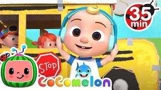 Wheels on the Bus (Play Version) + More Nursery Rhymes \u0026 Kids Songs - CoComelon