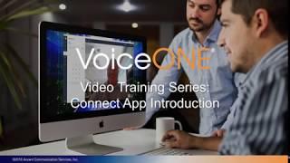 VoiceONE Connect Desktop Introduction