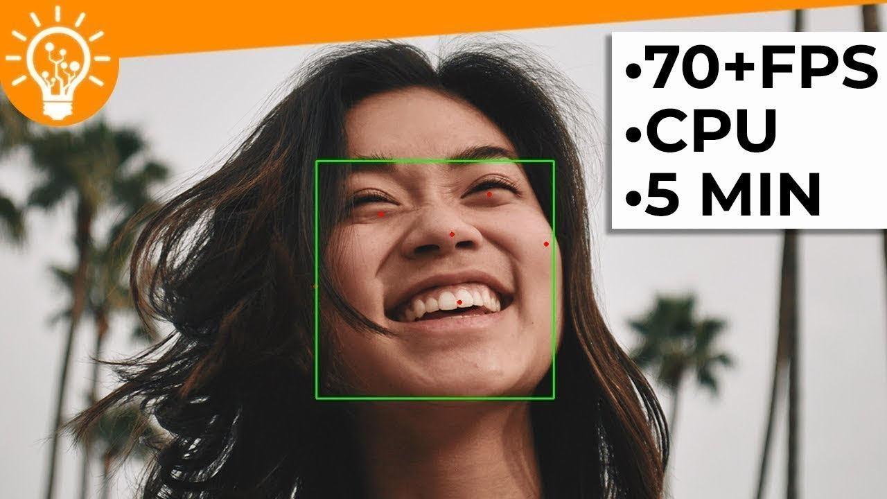 Face Detection in 5 minutes - 70 FPS on CPU