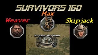 War Commander - Survivors (160) Weaver, Skipjack And Max Token Base.