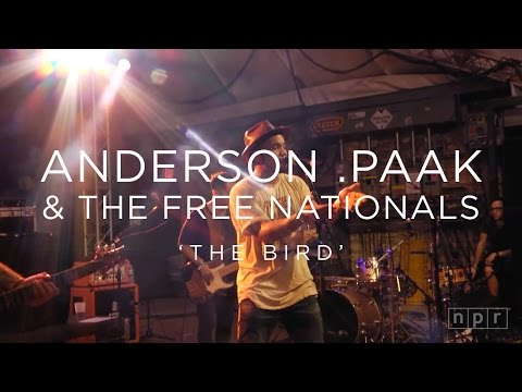 Anderson .Paak 'The Bird' SXSW 2016 | NPR MUSIC FRONT ROW
