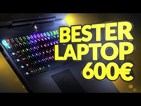 Bester 600€ Gaming Laptop 2017 - Gaming Notebook unter 600 Euro für Gamer