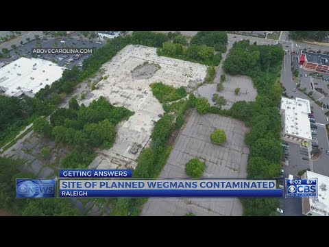 Site of new Raleigh Wegmans has contaminated soil
