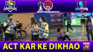 Act Kar Ke Dikhao | Game Show Aisay Chalay Ga League Season 2 | TickTock Vs Champion