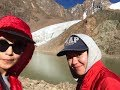 Our crazy hike to Lake #6, Almaty (~3600m asl) | Озеро им.М.Маметовой