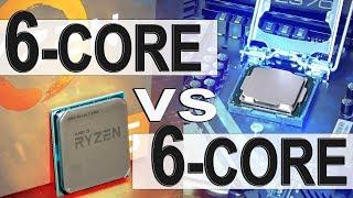 AMD 6-Core vs INTEL 6-Core -- AMD Ryzen 5 2600 vs Intel i5 8400
