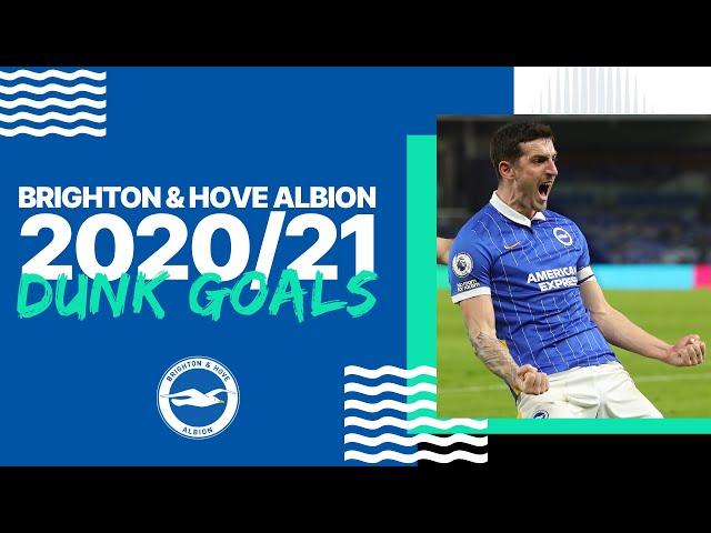 Lewis Dunk's 2020/21 Premier League Goals