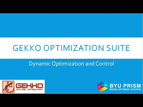 GEKKO Optimization Suite — GEKKO 0 2 6 documentation