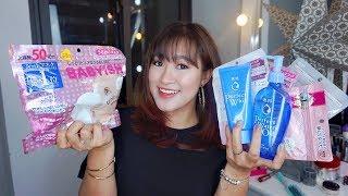Japanese Skincare HAUL P.1♡Những điều thú vị tại Nhật + GIVEAWAY