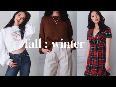 fall to winter fashion haul