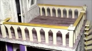 КАФЕ - видео №5 Лестница и перила (кукольная миниатюра).(Создание кафе я разделила на 5 видео. В этом видео я показываю как я делаю перила для веранды и лестницу(куко..., 2016-10-22T08:02:32.000Z)