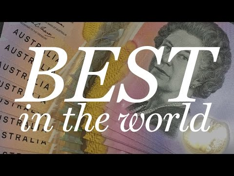 Why Australia's $5 Note is the Best in the World