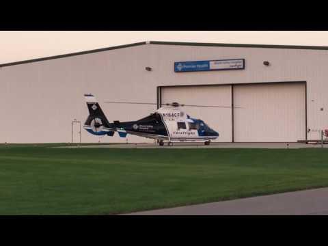 Miami Valley Careflight takeoff