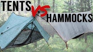 Why Hammock Camping is Better Than Tent Camping - Tents Vs. Hammocks Showdown!