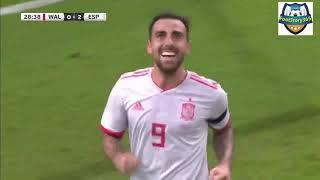 Wales v Spain Match Report, 11/10/2018, International Friendly