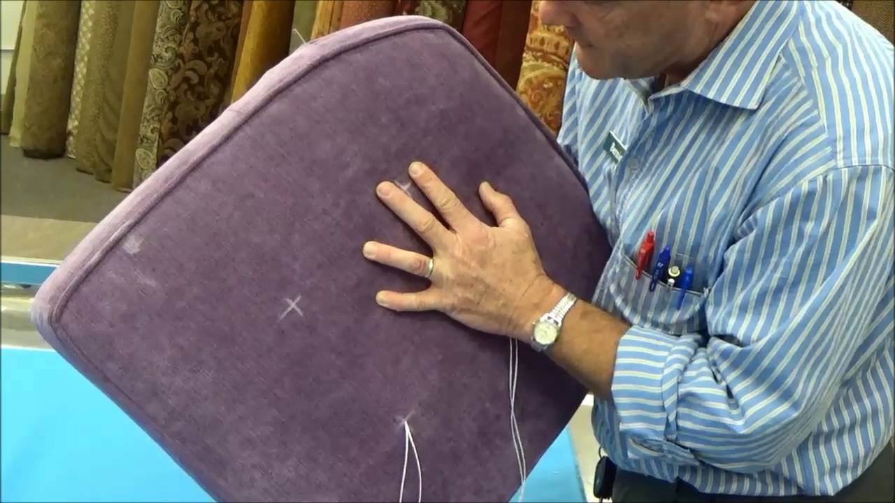 Upholstery Basics Step By Step Button Tufting Youtube