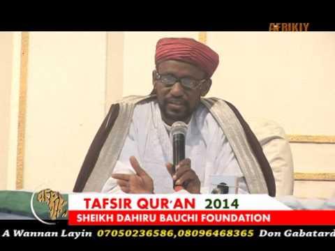 Download Sayyadi Bashir Shk Dahiru Bauchi Tafsir'14 Day 23rd