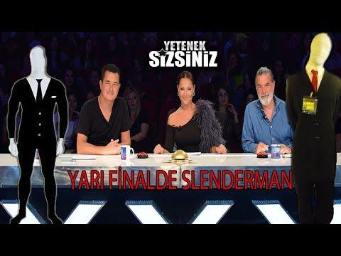 SLENDERMAN (SÜLEYMANDER)- YETENEK SİZSİNİZ TÜRKİYE YARI FİNAL !!