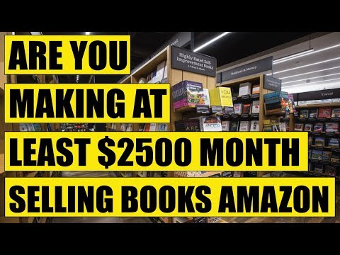 Are You Making $2500 A Month Selling Books On Amazon?