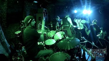 DUST N BRUSH@Daily Murders live at Gliwice-Poland 2012 (Drum Cam)