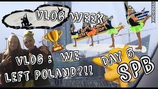 Vlog : уехали из Польши//фигуристы воруют бананы//неделя влогов день 5