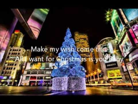 All I Want For Christmas Is You Lady Antebellum Lyrics