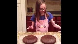 Easy To Make Scrumptious 2 Layer Chocolate Cake