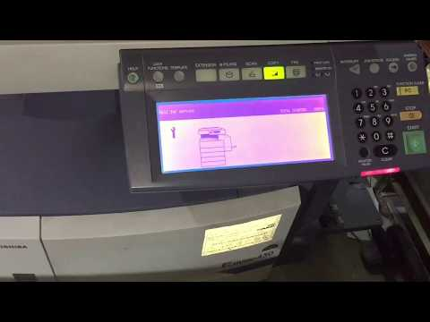 how to reset error code c440 in Toshiba e studio 450