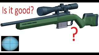 Is the Remington 700 a good Sniper? (Roblox Phantom Forces)