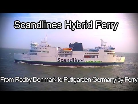 From Denmark To Germany By Ferry Scandlines FULL TRIP