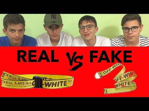 taglia 40 07af2 a56af COME RICONOSCERE UNA BELT OFF WHITE FAKE!