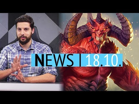 Kein Diablo 4 zur BlizzCon? - Walking Dead Episode 3 noch 2018 - News