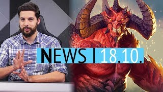 Kein Diablo 4 zur BlizzCon? - Walking Dead Episode 3 noch 2018 - News