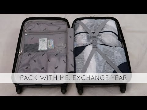 EXCHANGE YEAR USA 2017/2018 - #9 Packing For Exchange