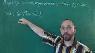 Тема 3 Урок 4 Періодичність тригонометричних функцій Приклад 2 - Алгебра 10 клас