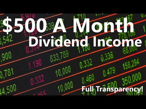 Averaging $500/month in PASSIVE INCOME | Investing, Passive income, Personal Finance