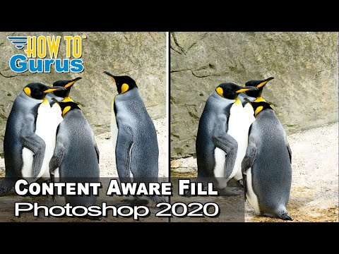 Adobe Photoshop 2020 New Content Aware Fill - Part Of The New Photoshop 2020 Features