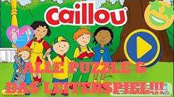 Caillou Spiel App Ein Tag mit Caillou Deutsch | Alle Puzzle und das Leiterspiel
