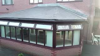 Supalite Tiled Conservatory Roof - Tapco Gullwing