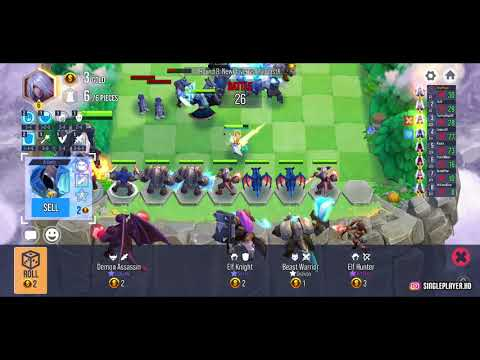 ♟️ Heroes Auto Chess - Free RPG Chess Game | First Impression | Android/ IOS (ENGLISH)