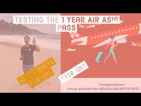 Air Asia Unlimited Flight Pass 1 Year for only $118 - Flight Shopping Test