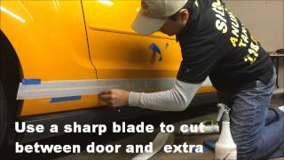how to install vehicle decals fast and easy