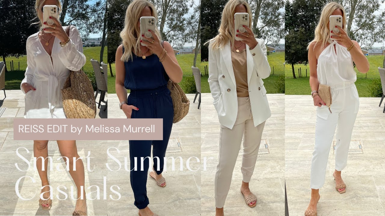 Smart Summer Casuals from Reiss, April 2021