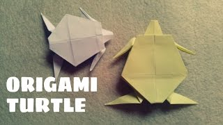 Origami for Kids - Origami Turtle - Origami Animals