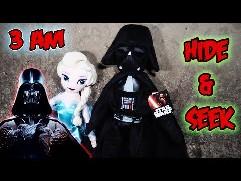 3 AM HIDE & SEEK CHALLENGE AT THE FAZE RUG TUNNEL DARTH VADER   OUR LIGHTS STOPPED WORKING!!